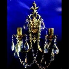 Бра Бронзовая 2 лампы №2